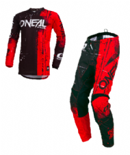 O`Neal ELEMENT Youth Jersey & Pant Combo SHRED red